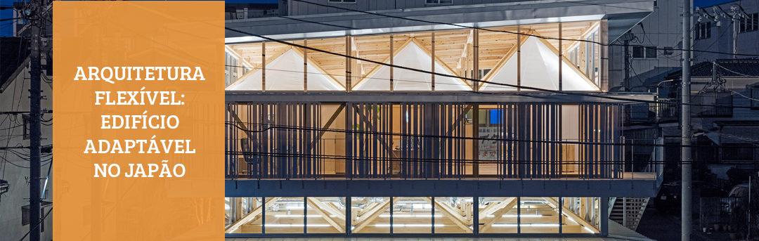 Arquitetura flexível: um edifício adaptado no Japão